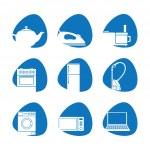 Household appliances — Stock Vector #11867181
