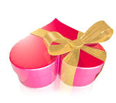 Heart shaped gift box — Stock Photo