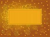 Multi-purpose autumn card - eps 8 version — Stock Vector