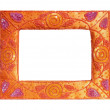 Asian style vintage frame — Stock Photo #12071362