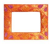 Asian style vintage frame — Stock Photo