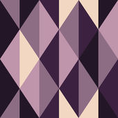 Abstract violet seamless pattern, rhombus-shaped, vector — Stock Vector