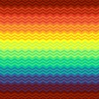 Mexican blanket zigzag seamless pattern, vector — Vettoriali Stock