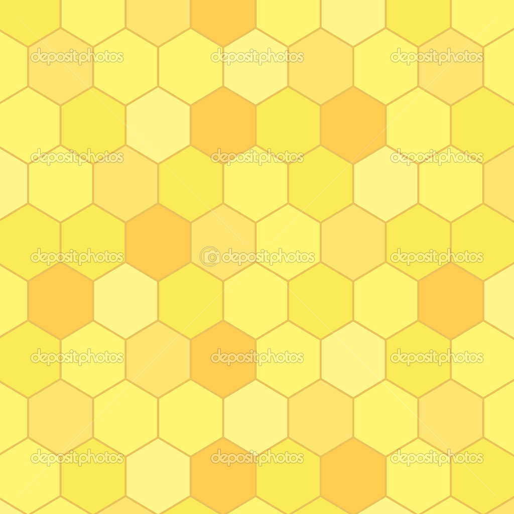 Honeycomb seamless background, vector   #11988300