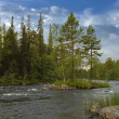 Keret River in Karelia. — Stock Photo