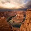 Dramatic Desert Canyon Sunrise — Stock Photo #11654508