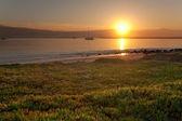 Sunrise at Half Moon Bay — Stock Photo