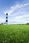 Bodie Island Lighthouse at dusk — Stock Photo