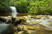 Panthertown Waterfall North Carolina — Stock Photo