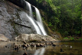North Carolina Mountain Waterfall — Stock Photo