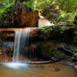 Lower Golden Cascade on Berry Creek Trail, Big Basin — Stock Photo