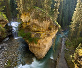 Johnston Canyon, Banff — Stock Photo