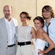 Anthony Edwards, Carmen Ejogo, Scot Michael Foster, Addison Timlin — Stock Photo