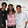 Trevor Jackson, Coco Jones, Tyler James Williams — Stock Photo