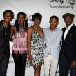 Trevor Jackson, Coco Jones, Dawnn Lewis, Tyler James Williams, Courtney B. Vance — Stock Photo