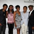 """Let it Shine"" Cast - Trevor Jackson, Coco Jones, Dawnn Lewis, T — Stock Photo"