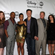 Scandal Cast - Guillermo Diaz, Darby Stanchfield, Columbus Short, Kerry Washington, Tony Goldwyn, Jeff Perry, Katie Lowes, Ian Cusick - Stock Photo