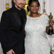 Christian Bale, Octavia Spencer — Stock Photo