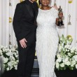 Christian Bale, Octavia Spencer — ストック写真
