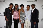 """Let it Shine"" Cast - Trevor Jackson, Coco Jones, Dawnn Lewis, T — Stock Photo"