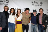 Revenge Cast - Gabriel Mann, Ashley Madekwe, Christa B. Allen, Josh Bowman, Connor Paolo, Henry Czerny — Stock Photo