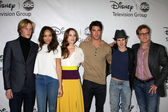 Revenge Cast - Gabriel Mann, Ashley Madekwe, Christa B. Allen, J — Stock Photo