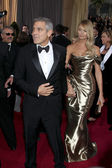 George Clooney, Stacy Keibler — Stock Photo