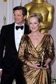 Colin FIrth, Meryl Streep — Stock Photo