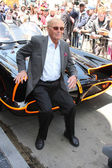 Adam West, Batmobile — Stockfoto
