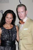 Sydney Penny, with David Zyla, Costume Designer of AMC — Stock Photo