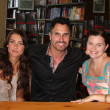Jacqueline MacInnes Wood, Don Diamont, Heather Tom — Stock Photo #11682170