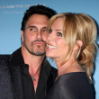 Don Diamont, Cindy Ambuehl — Stock Photo