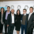 Bill Lawrence, Christa Miller, Josh Hopkins, Ian Gomez, Courtene — Stock Photo