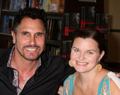 Don Diamont, Heather Tom — Stock Photo