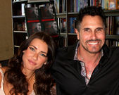 Jacqueline MacInnes Wood, Don Diamont — Stock Photo
