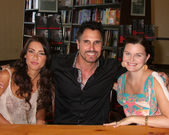 Jacqueline MacInnes Wood, Don Diamont, Heather Tom — Stock Photo