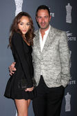 Ashley Madekwe, Christos Garkinos — Stock Photo