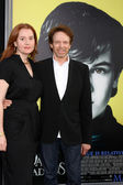 Jerry Bruckheimer, daughter — Stock Photo