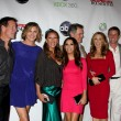 James Denton, BrendStrong, VanessWilliams, EvLongoria, Mark Moses, Felicity Huffman, Doug Savant and AndreBowen — Stock Photo #11690621