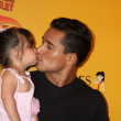 Mario Lopez and daughter — Stock Photo #11691857