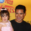 Mario Lopez and daughter — Stock Photo #11691858