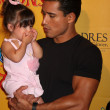 Mario Lopez and daughter — Stock Photo #11691882