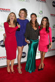 Felicity Huffman, Brenda Strong, Vanessa L. Williams, Eva Longor — Stock Photo