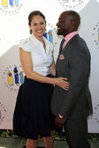 Amy Brenneman, Taye Diggs — Stock Photo