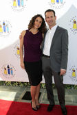 Melina Kanakaredes, Darryl Frank — Stock Photo