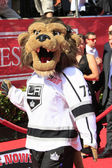 Bailey, LA Kings mascot — Stock Photo
