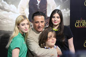 Andy Garcia, family — Stock Photo