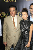 Andy Garcia, Eva Longoria — Stock Photo