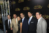 Dean Wright, Mauricio Kuri, Andy Garcia, Eva Longoria, Nestor Carbonell, Eduardo Verastequi, Pablo Jose Barroso — Stock Photo