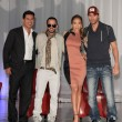 Mario Lopez, Yandel, Jennifer Lopez, Enrique Iglesias — Stock Photo #11704363